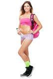 Young fit woman in sports outfit Royalty Free Stock Photography