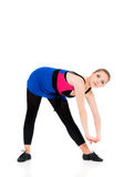 Young fitness girl Stock Images
