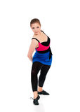 Young fitness girl Royalty Free Stock Photo