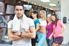 Young fitness instructor Royalty Free Stock Photography