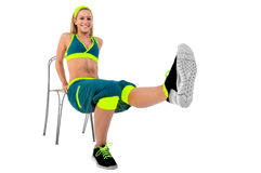 Young fitness instructor Stock Photos