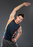 Young fitness man Royalty Free Stock Image