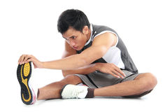 Young fitness man Stock Photo