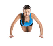 Fitness portrait Stock Photos