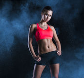 Fitness portrait Stock Images