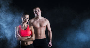 Fitness portrait Royalty Free Stock Photography