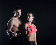 Fitness portrait Stock Photography