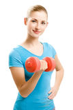 Young fitness woman Stock Image