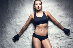 Young Fitness Woman Stock Images