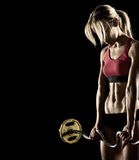 Young fitness woman Stock Photos