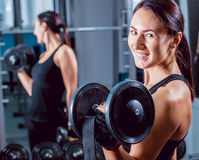 The young fitness woman Royalty Free Stock Images