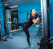 The young fitness woman Royalty Free Stock Photography
