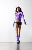 Young fitness woman walking Stock Photos