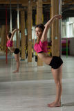 Young flexible dancer Stock Images