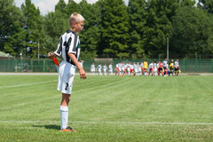 Young football player Royalty Free Stock Images