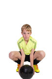 Young football player Stock Image