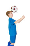 Young football player Stock Photo