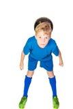 Young football player Stock Photos