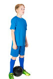 Young football player Royalty Free Stock Photography