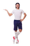 Young football player Royalty Free Stock Image