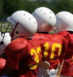 Young Football Players Royalty Free Stock Images