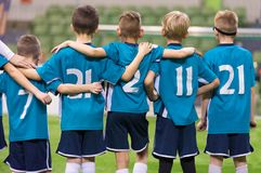 Young Football Players stock photo