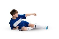 Young footballer Stock Photography