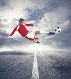 Footballer Stock Images