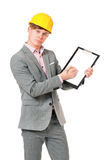 Young foreman Royalty Free Stock Photos
