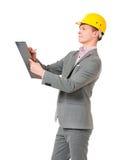 Young foreman Stock Image