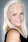 Young and fresh blonde smiling Stock Photo