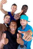 Young Fresh Group Of Teens Stock Photography
