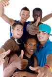 Young fresh group of teens Stock Image