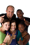 Young Fresh Multiracial Group Stock Image