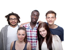 Young and fresh young people Stock Photos