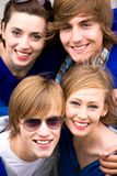 Young Friends Royalty Free Stock Photography