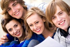 Young Friends Stock Photography