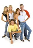 Young friends Stock Images