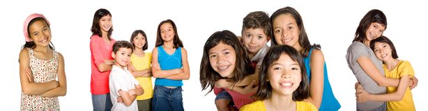 Young friends appearing confident Stock Photo