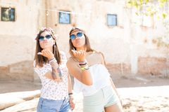 Young, Fun And Flirty stock photography
