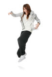 Young funky (house) dancer Royalty Free Stock Photo