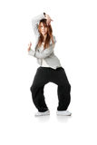 Young funky (house) dancer Stock Photography