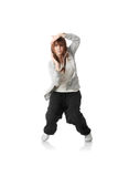 Young funky (house) dancer Stock Photo