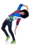 Young funky man posing Stock Photography