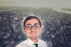 Young funny executive Royalty Free Stock Image