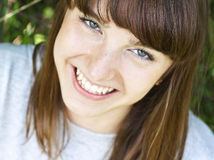 Young funny woman Royalty Free Stock Photo