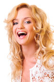 Young funny woman Stock Image