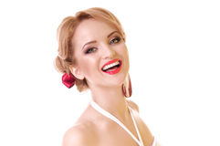 Young funny woman Royalty Free Stock Images
