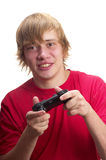 Young gamer Stock Images