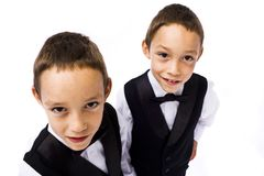 Young gangsters Royalty Free Stock Photo